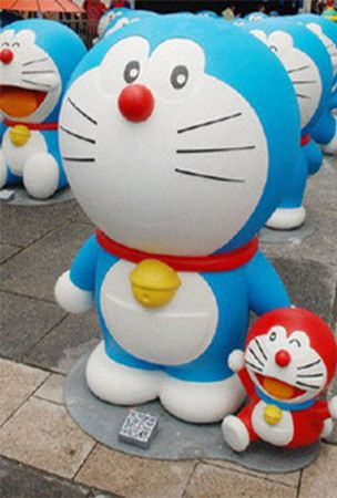 "100 ""life-size"" Doraemon figures to be featured at Hakone event"