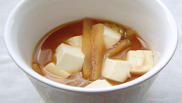 Miso Soup with Daikon Recipe