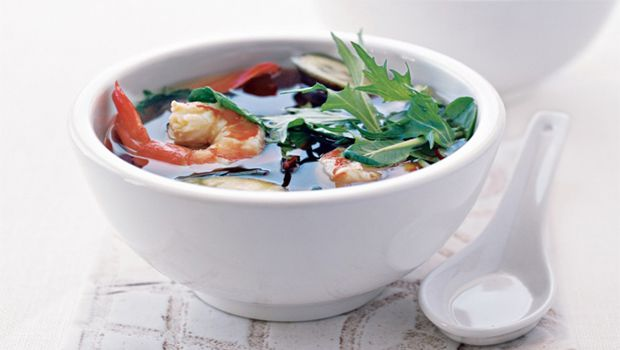 Miso Soup with Eggplant recipe