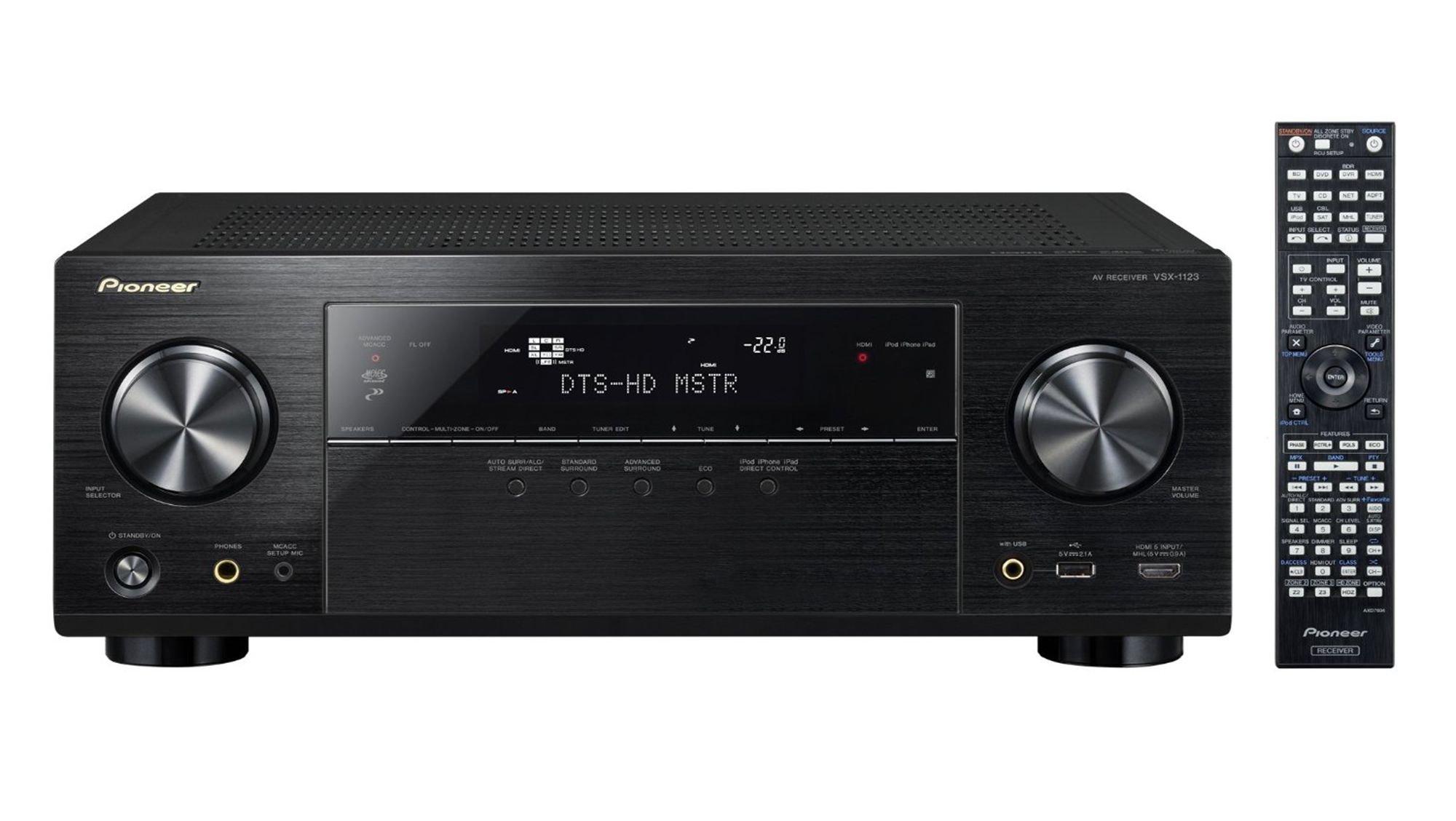 Pioneer 2 audio amplifier models VSA-1123 and VSA-823 Support for 4K,