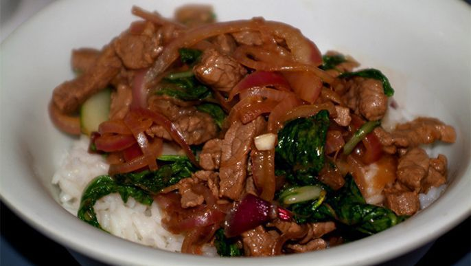 Beef and Bok Choy Stir-fry Recipe