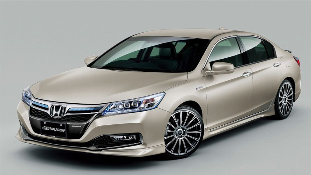 Delightful Mugen Releases Custom Parts For The New Honda Accord Hybrid