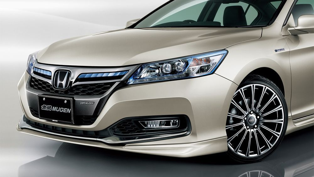 Mugen Releases Custom Parts For The New Honda Accord Hybrid Auto