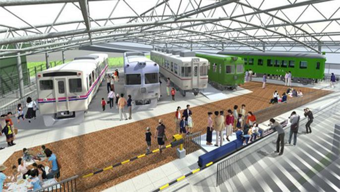 Remodeled Keio Rail Land on track to open in October