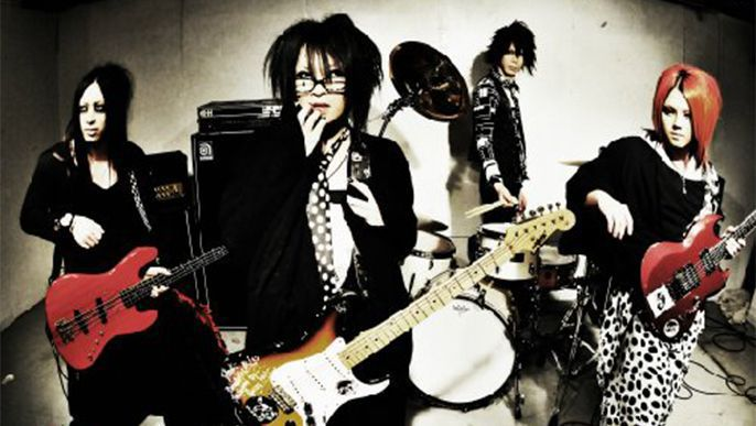 Visual Kei band umbrella Releases 2nd Mini album Monochrome (Black)