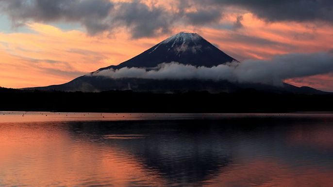 Japanese scholar Donald Keene reflects on Japan's love for Mount Fuji