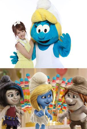 "AKB48's Takahashi Minami to sing the theme song for ""The Smurfs 2"" Japan release"