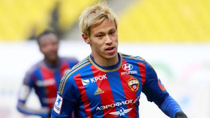 Soccer: Honda turned down Barcelona, CSKA want him until December: reports