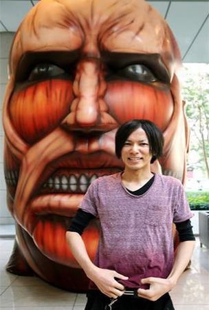 Boosted by anime version, 'Attack on Titan' manga sales top 22 million
