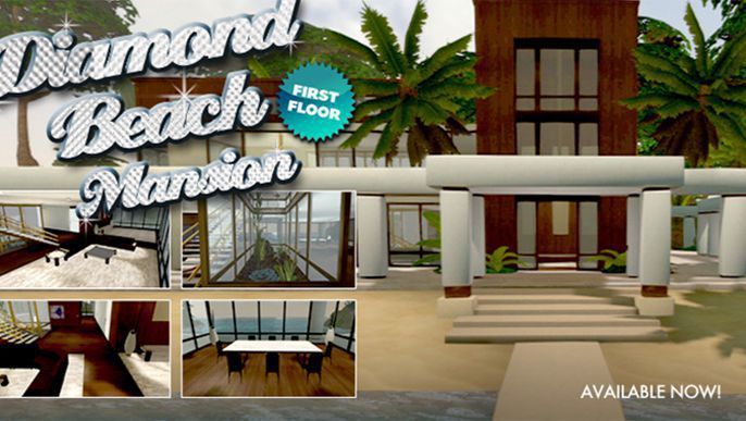 Sony : PlayStation Home Releases Second Floor of Diamond Beach Mansion