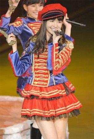 Kojima Haruna takes the center position for AKB48's 33rd single