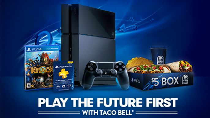 Sony PlayStation and Taco Bell: A Chance to Win PS4 Before November 15th