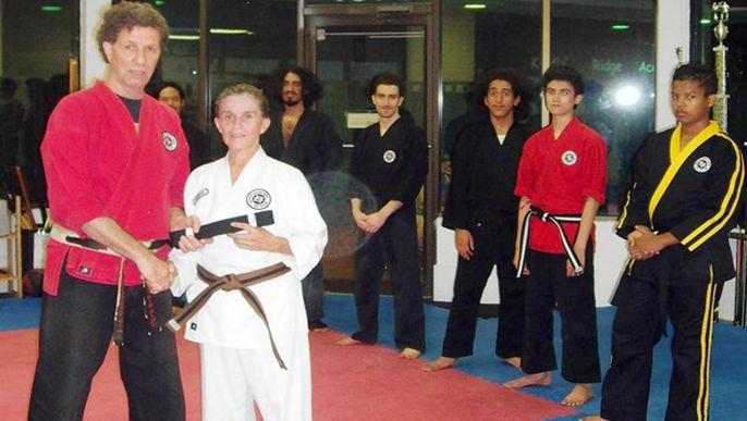 Plantation karate institute pushes students to succeed