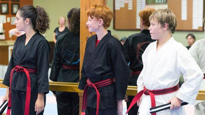 Moreno Valley : Karate students achieve Junior Shodan rank