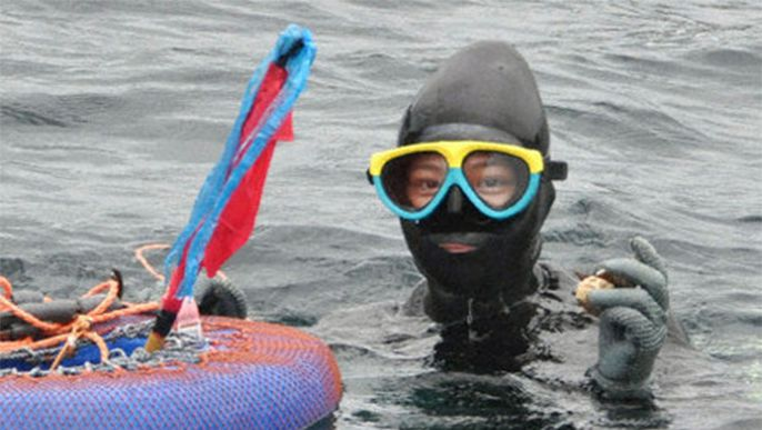 """Ama"" woman divers seek to keep tradition alive"