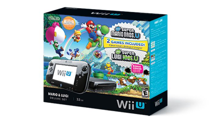 Update : Nintendo Mario and Luigi Jump Into the New Wii U Deluxe Set