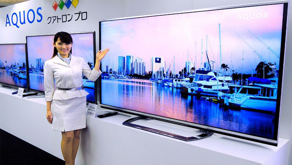 technology sharp to release new cheaper tv model with k type resolution
