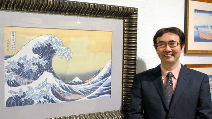 Artist Hokusai's world digitally re-created at London exhibition