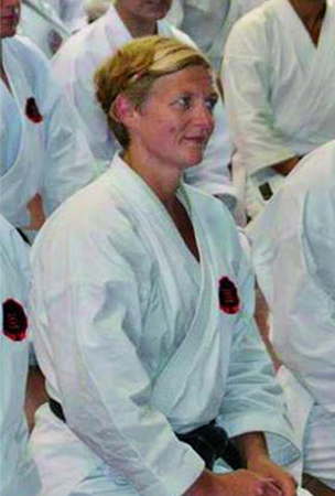 Only woman to reach 7th Dan Black Belt