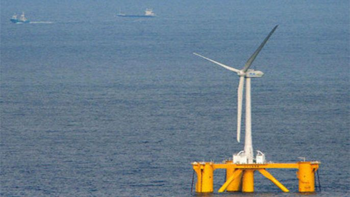 Floating wind farm starts operation off Fukushima