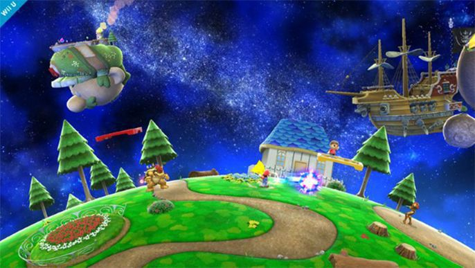 Nintendo : Super Smash Bros. Will Include Super Mario Galaxy Stage On Wii U, 3DS