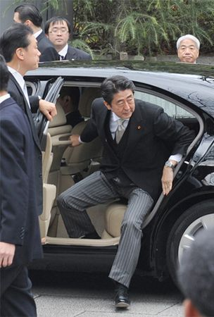 U.S. 'disappointed' at Abe's Yasukuni visit