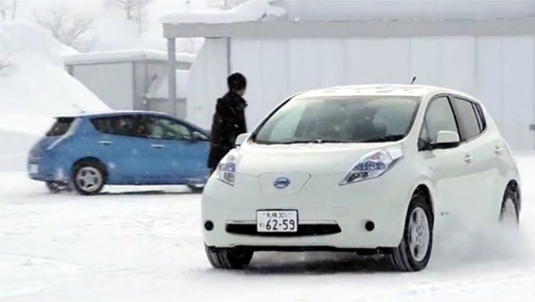 Yes, it's totally possible to drive 100+ miles in a Nissan Leaf in freezing cold