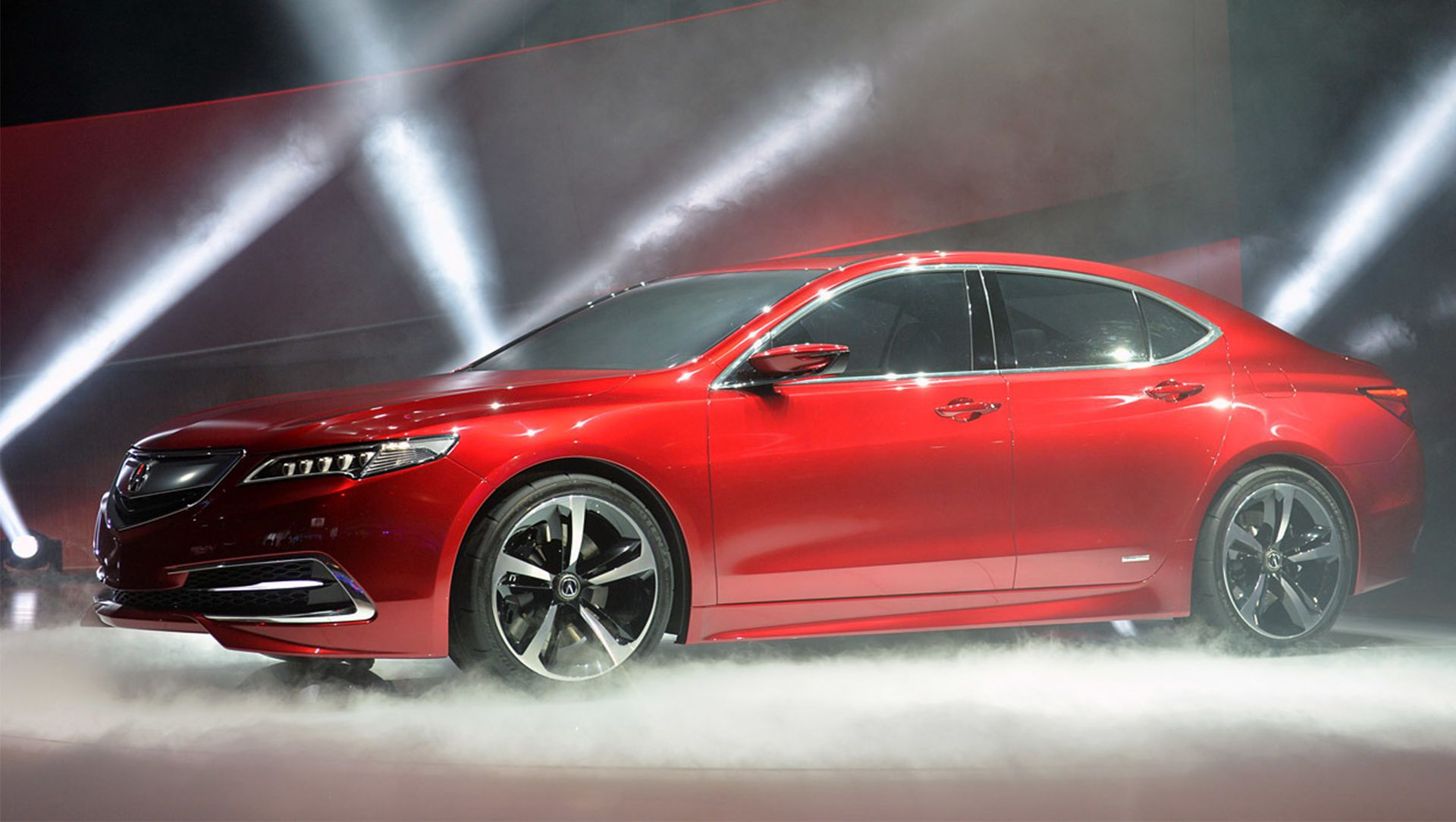 Detroit Auto Show Acura TLX Driving To Be A Red Carpet - Car show carpet