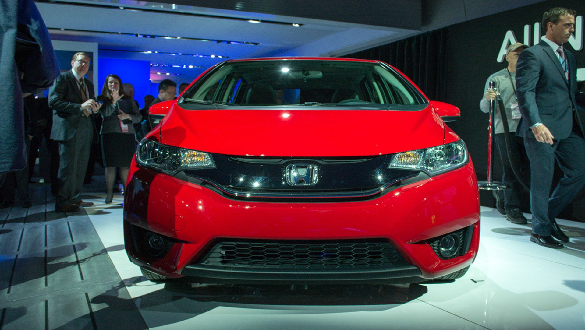 2014 Detroit Auto Show : 2015 Honda Fit Shapes Up For America
