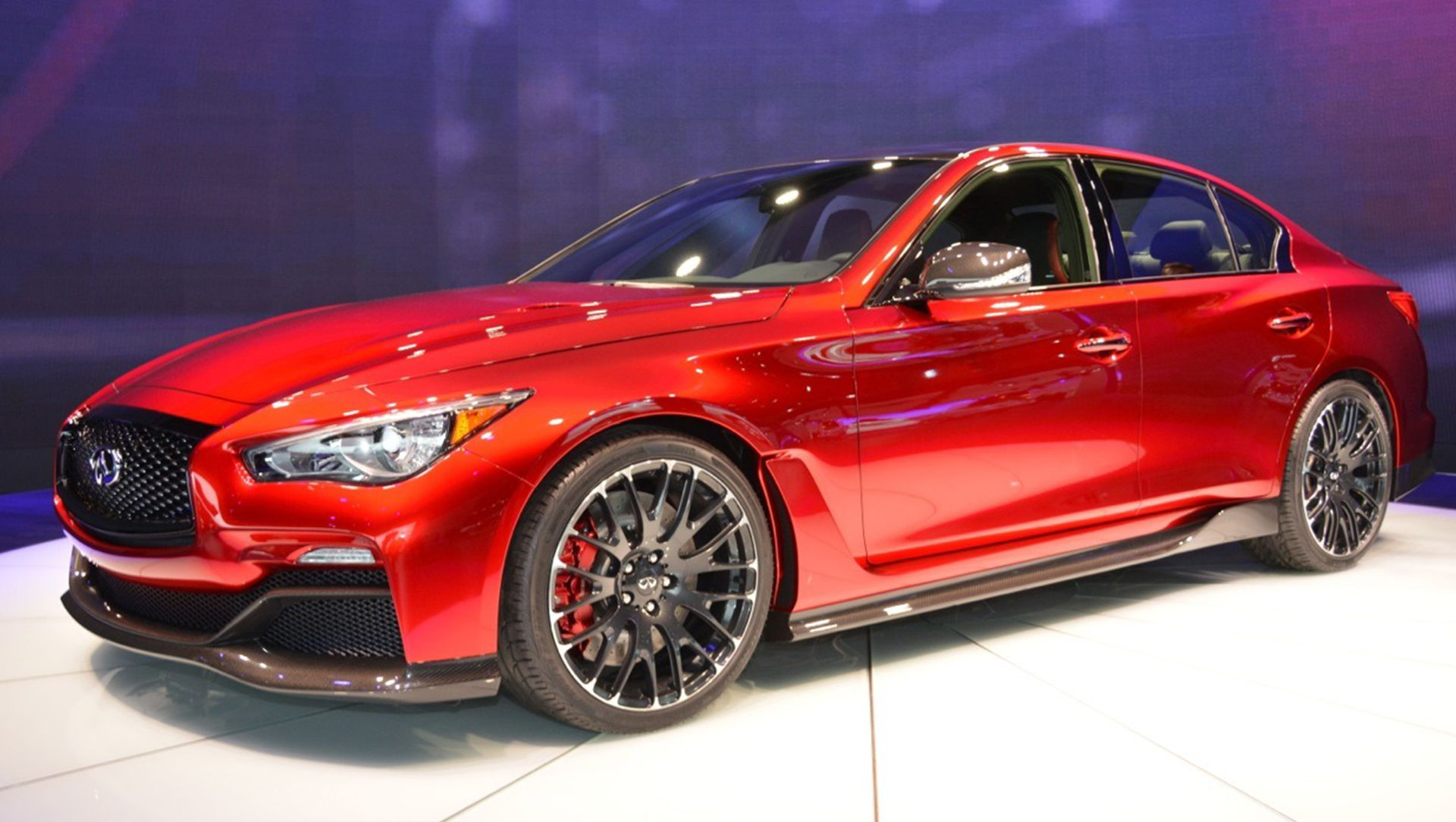 Infiniti Q50 Coupe Red