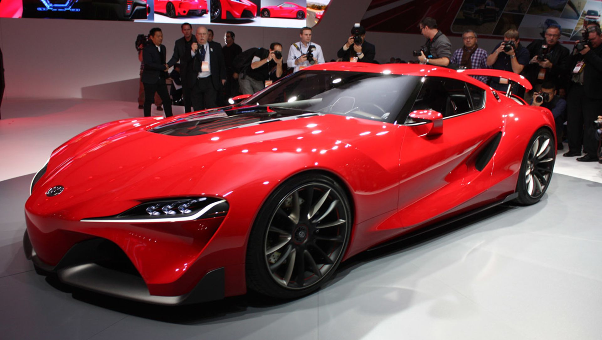 2014 Detroit Auto Show : Toyota FT 1 Concept Previews A Future We Want To  Race Car Technologies Moving ...