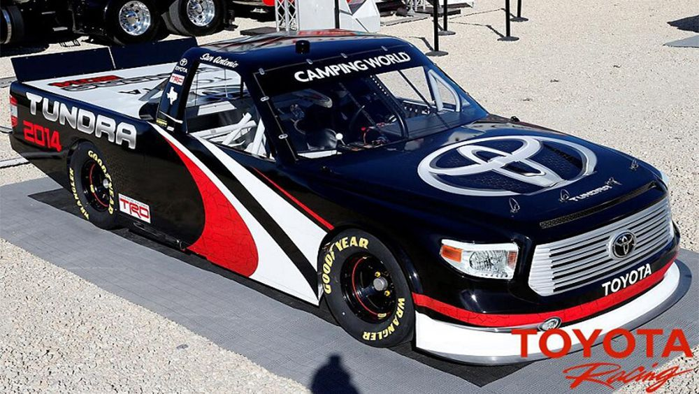 Video Introducing The 2014 Toyota Tundra For The Nascar Camping
