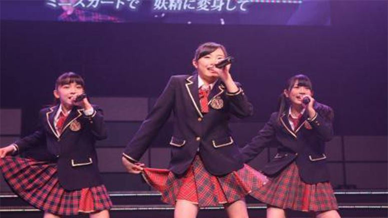 AKB48 draft members greet audience for the first time