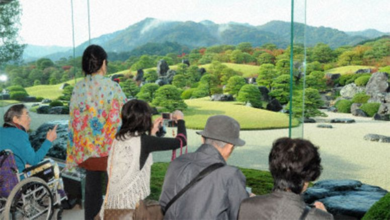 PHOTO : Shimane garden tops U.S. magazine ranking