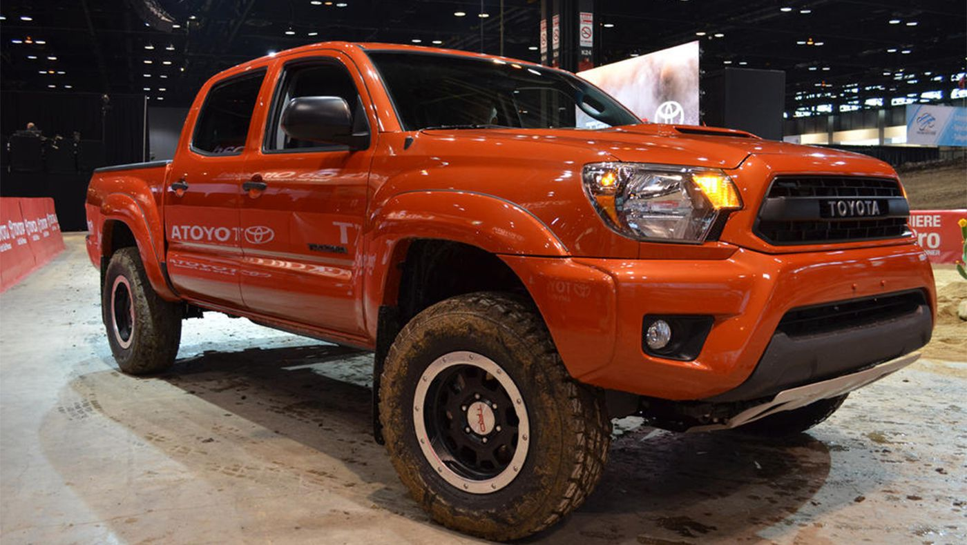 2015 Chicago Auto Show : Toyota Ready To Get Dirty With New TRD Pro Series