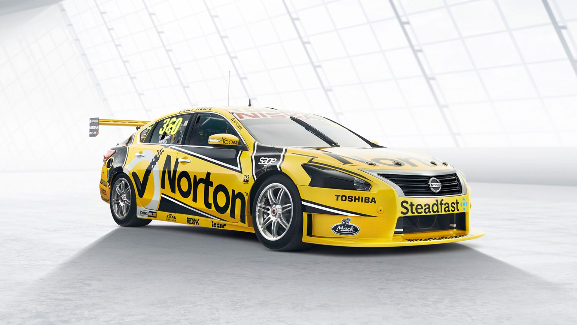 Norton Hornets Show The Colors Of Their 2014 Nissan Altima V8 Supercars  Contender