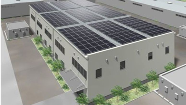 Panasonic to Release Solar Panels for Folded-plate Roofs
