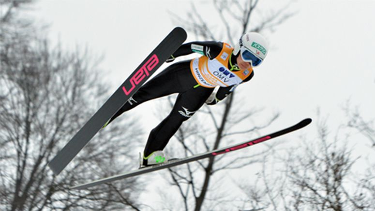 Japan's Takanashi wins 2nd straight ski jump event