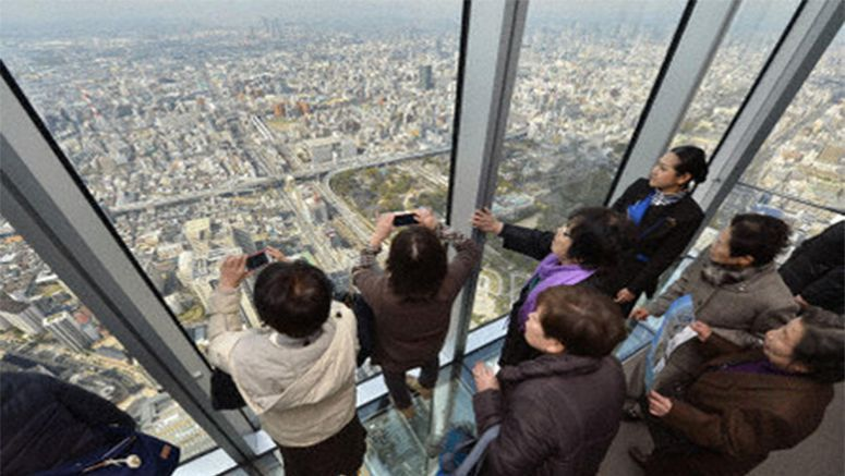 Japan's tallest building Abeno Harukas fully opens in Osaka