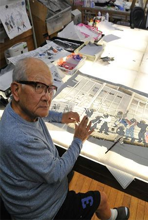 SEIJI FUJISHIRO: At 89, shadow picture artist continues to shine