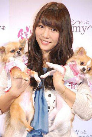 AKB48's Takajo Aki produces pet fashion brand