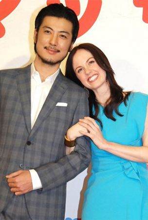 An American actress chosen as the heroine for NHK's upcoming morning drama