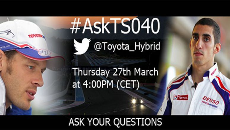 #AskTS040 marks arrival of Toyota Racing's all-new hybrid endurance racer