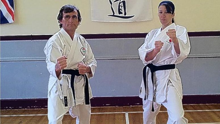 KARATE: Black belts mark duo's successful comeback