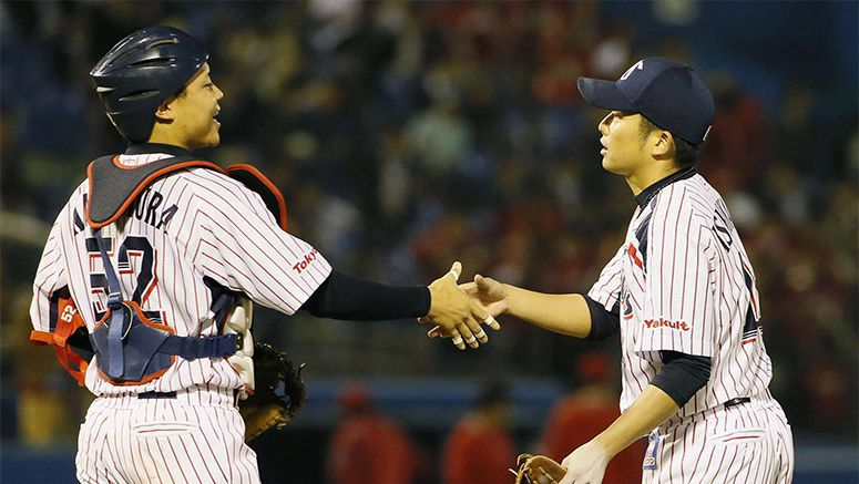 Baseball: Swallows come alive in rout of Marines
