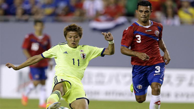 Soccer: Japan scores late to pull away from Costa Rica 3-1