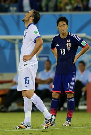 World Cup: Japan gamble to drop Kagawa bold and unsuccessful