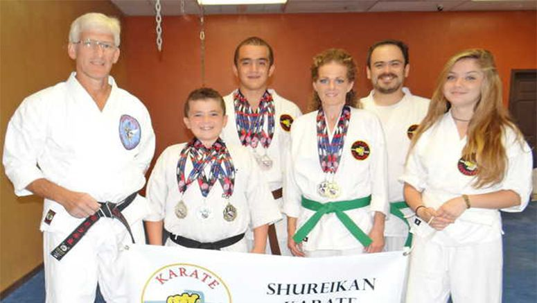 Shureikan Karate athletes bring home honors