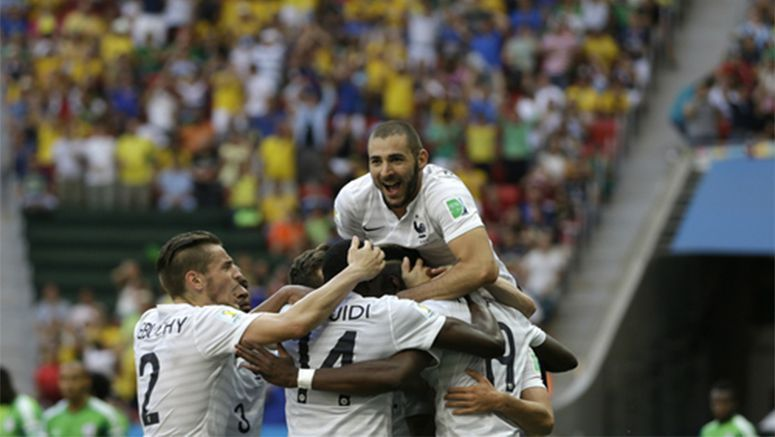 World Cup: France in World Cup QF as nerve holds vs. Nigeria