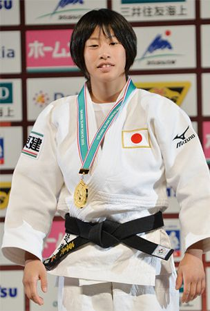 Judo: Kondo, 19, wins women's 48 kg for Japan's 1st gold of worlds